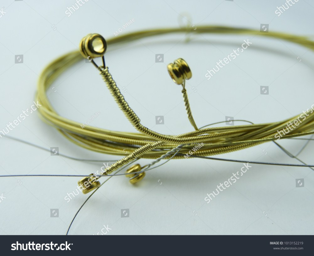 medium resolution of guitar strings old guitar strings coiled together for disposal