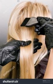 hairdresser hair dye