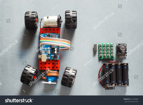 small resolution of handmade rc car model construction on electronic little homemade truck for rally with remote