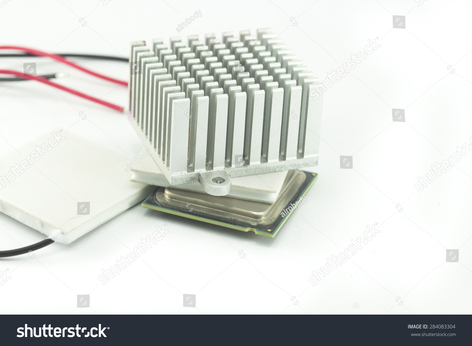 heat sink for thermoelectric cooler