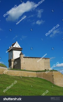 Herman Castle In Narva. Estonia Stock 16354675