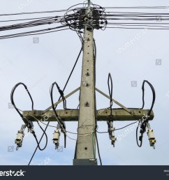 high voltage wiring and fuse kit to prevent short circuit when overloaded on concrete pole [ 1500 x 1225 Pixel ]