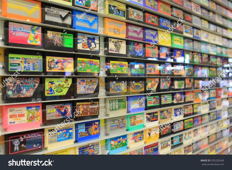 Hong Kong July 8 Game Pak Stock Photo 205230340 - Shutterstock