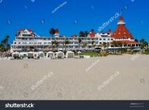 Hotel Del Coronado San Diego California Stock