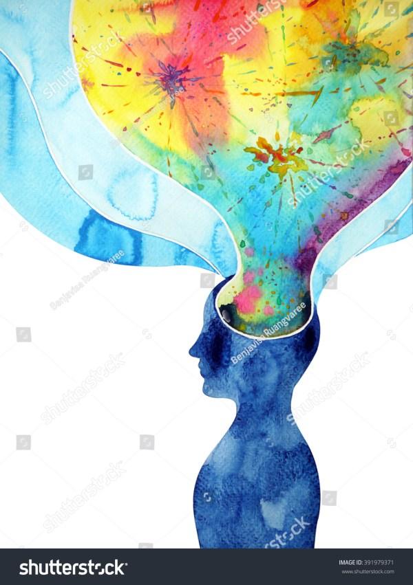 Human Mind Abstract Art
