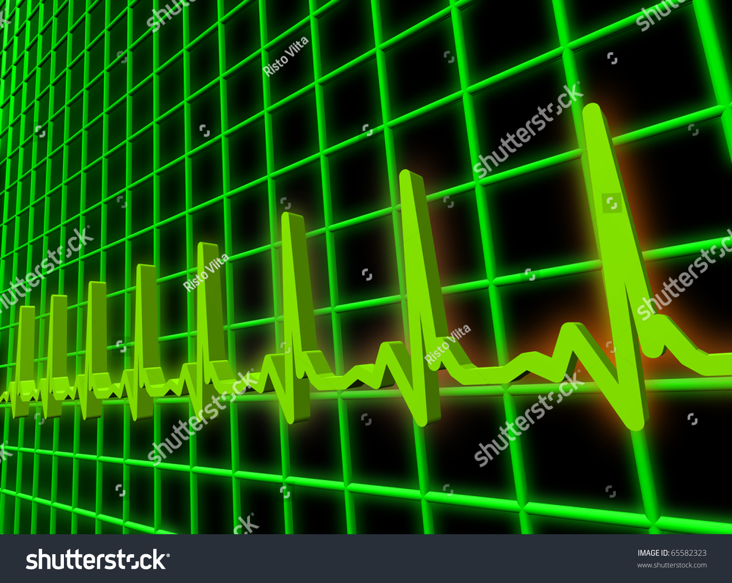 heart beat diagram polaris rzr 800 parts human ekgecg pulse stock illustration