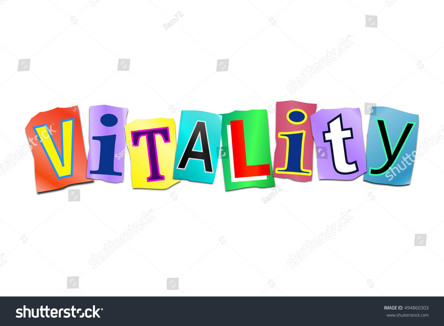 Illustration Depicting Set Cut Out Printed Stock Illustration 494860303 - Shutterstock