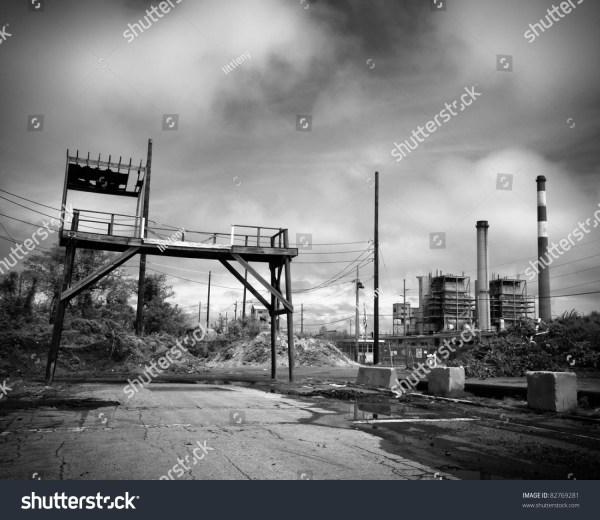 industrial landscape abandoned