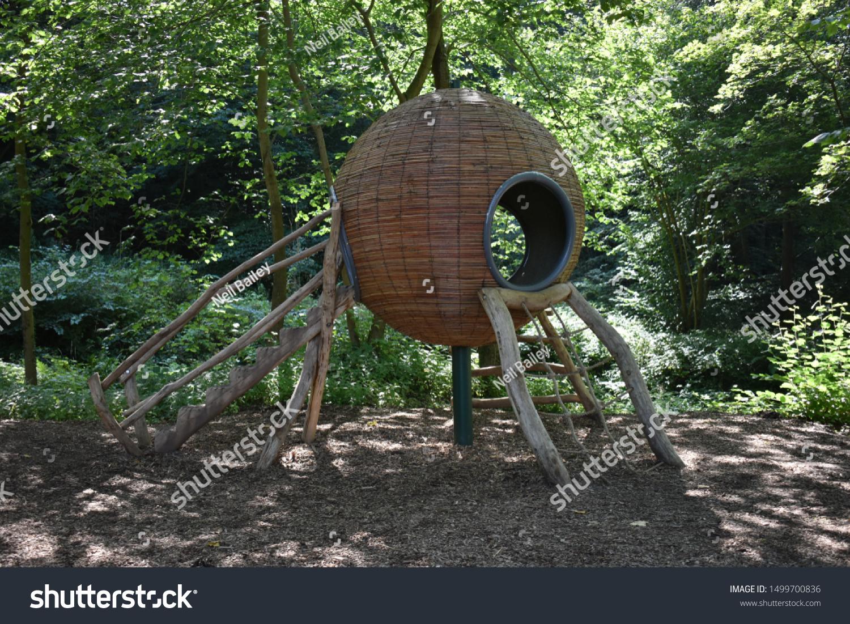 Interesting Unusual Fabulous Tree House Children Stock Photo Edit Now 1499700836