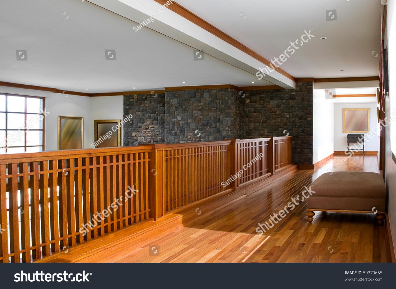 Interior Design Series: Classic Upstairs Corridor Stock Photo 59379655 : Shutterstock