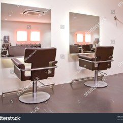Beauty Salon Chairs Images Glider Rocking Chair Parts Interior New Stock Photo 63423517