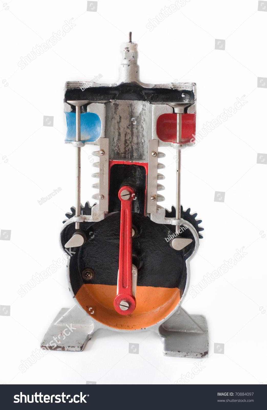 Internal Combustion Engine Model Stock Photo 70884097 : Shutterstock