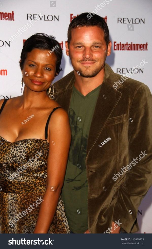 Justin Chambers Wife Keisha Entertainment Weeklys Stock 110979779 - Shutterstock