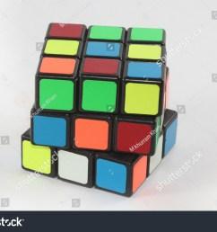 karachi pakistan 1 may 2018 solving the rubiks cube puzzle concept of solution  [ 1500 x 1099 Pixel ]