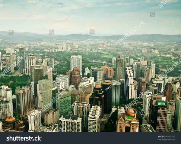 Kuala Lumpur Amazing City Skyline Stock 90262765 Shutterstock