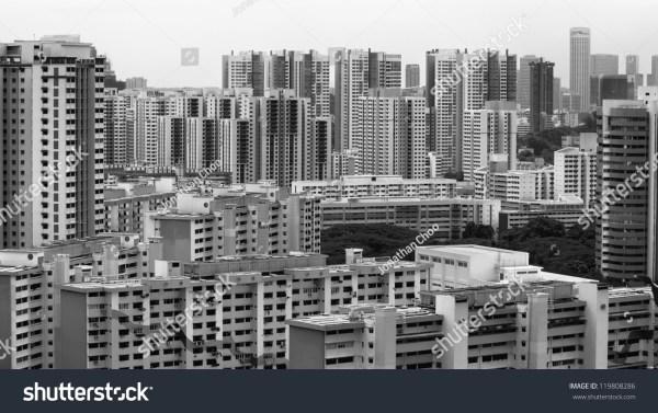 landscape view singapore housing