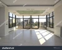 Large, Empty Living Room Stock Photo 112127612 : Shutterstock
