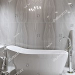 Large Furnished Bathroom Luxury Home Marble Stock Illustration 550314553