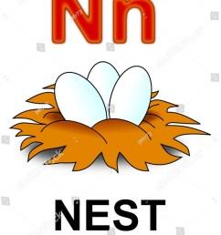 letter n nest [ 1061 x 1600 Pixel ]
