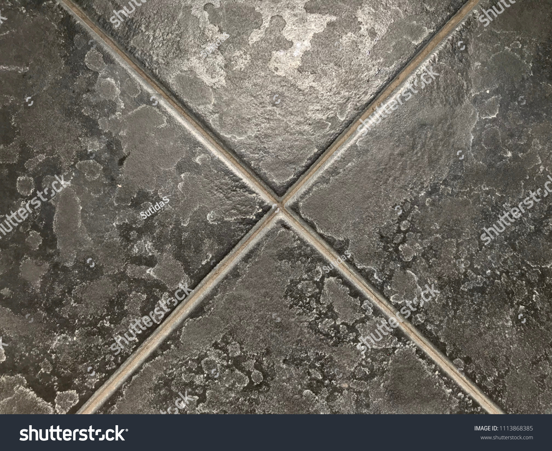 https www shutterstock com image photo limescale soap scum on black tile 1113868385