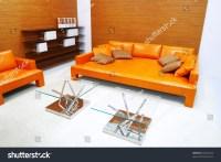 Living Room Interior In Brown Tones Stock Photo 29232205 ...