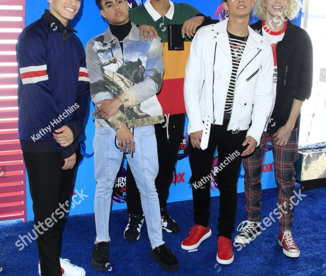 Los Angeles Aug 13 Prettymuch At The Teen Choice Awards 2017 At The Galen