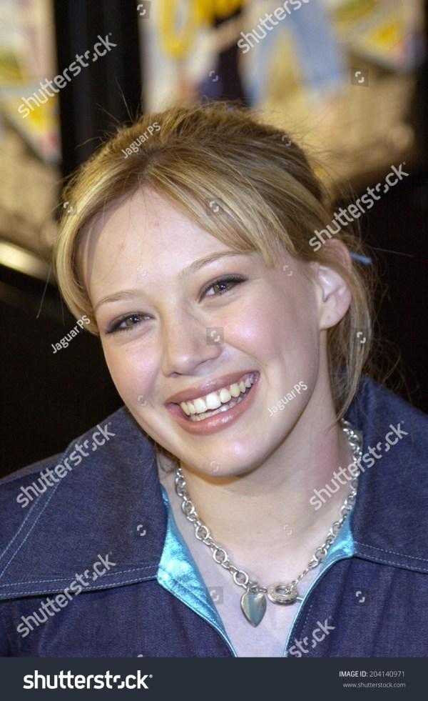 Hilary Duff Crossroads Premiere 2002