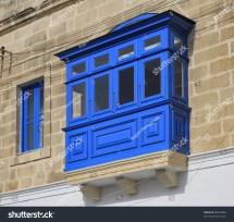 Malta Island Marsaxlokk Tipical Maltese House Facade