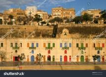 Malta La Valletta Historic Port Stock 64309555