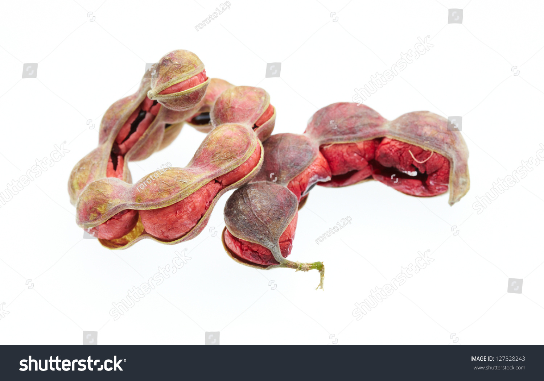 Manila Tamarind Fruit Isolated On White Stock Photo 127328243 - Shutterstock