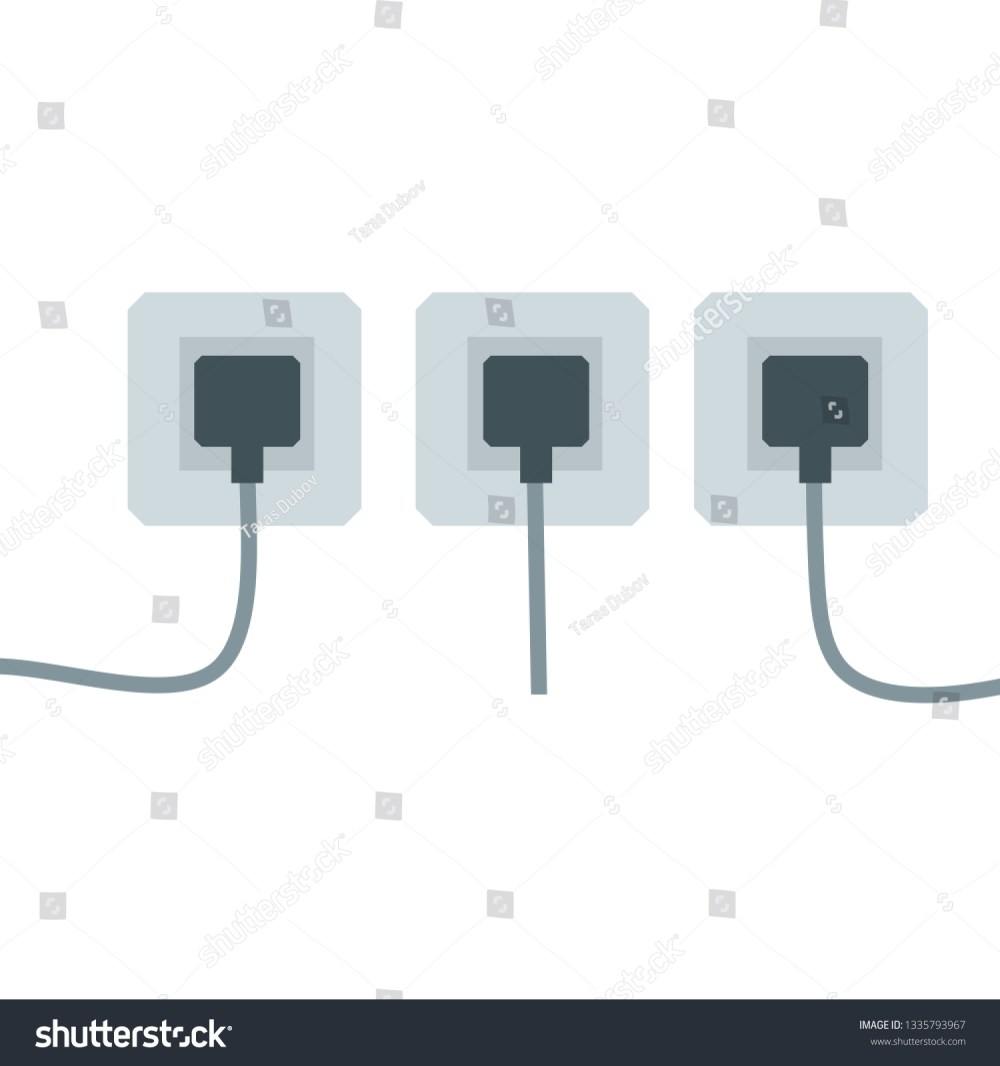 medium resolution of many outlets to plug with the wires electrical socket household appliance at home