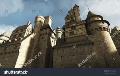 Medieval Fantasy Castle