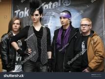 "Mexico City- Nov 10 Members Of German Band ""tokio Hotel"