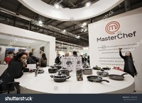 Milan, Italy - January 20, 2014:Stand Of Kitchen Equipment ...
