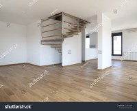 Modern Large Empty Living Room Stock Photo 114573088 ...