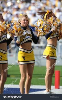 WVU WV West Virginia University Cheerleaders