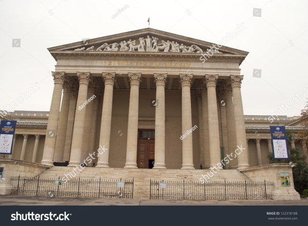 Museum Of Fine Arts In Budapest Stock 122318188 Shutterstock