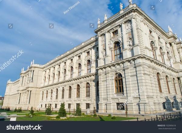 Museum Natural History Vienna Austria Stock