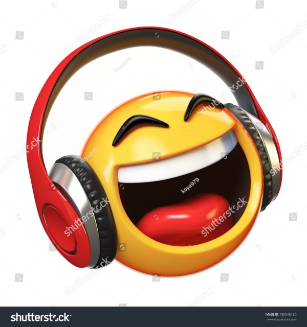 Listening To Music Emoji - Year of Clean Water