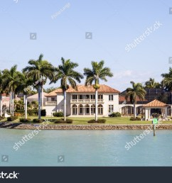 naples fl usa march 18 2017 luxury waterfront villa in the [ 1500 x 1101 Pixel ]