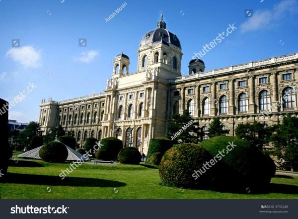 Natural History Museum Vienna Austria Stock