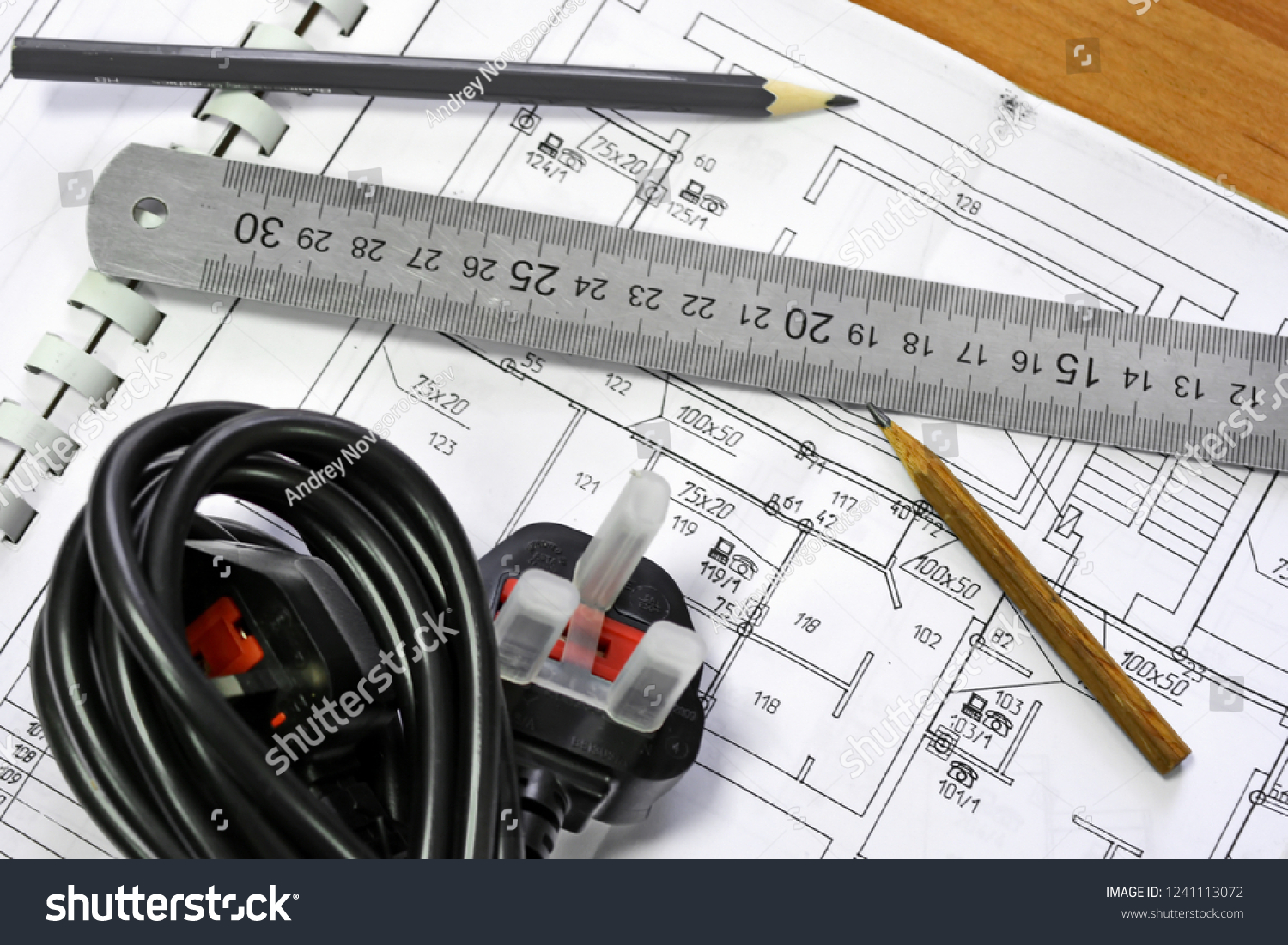 hight resolution of network schematic diagram of the electronic communications building on which lie sharp pencils steel ruler