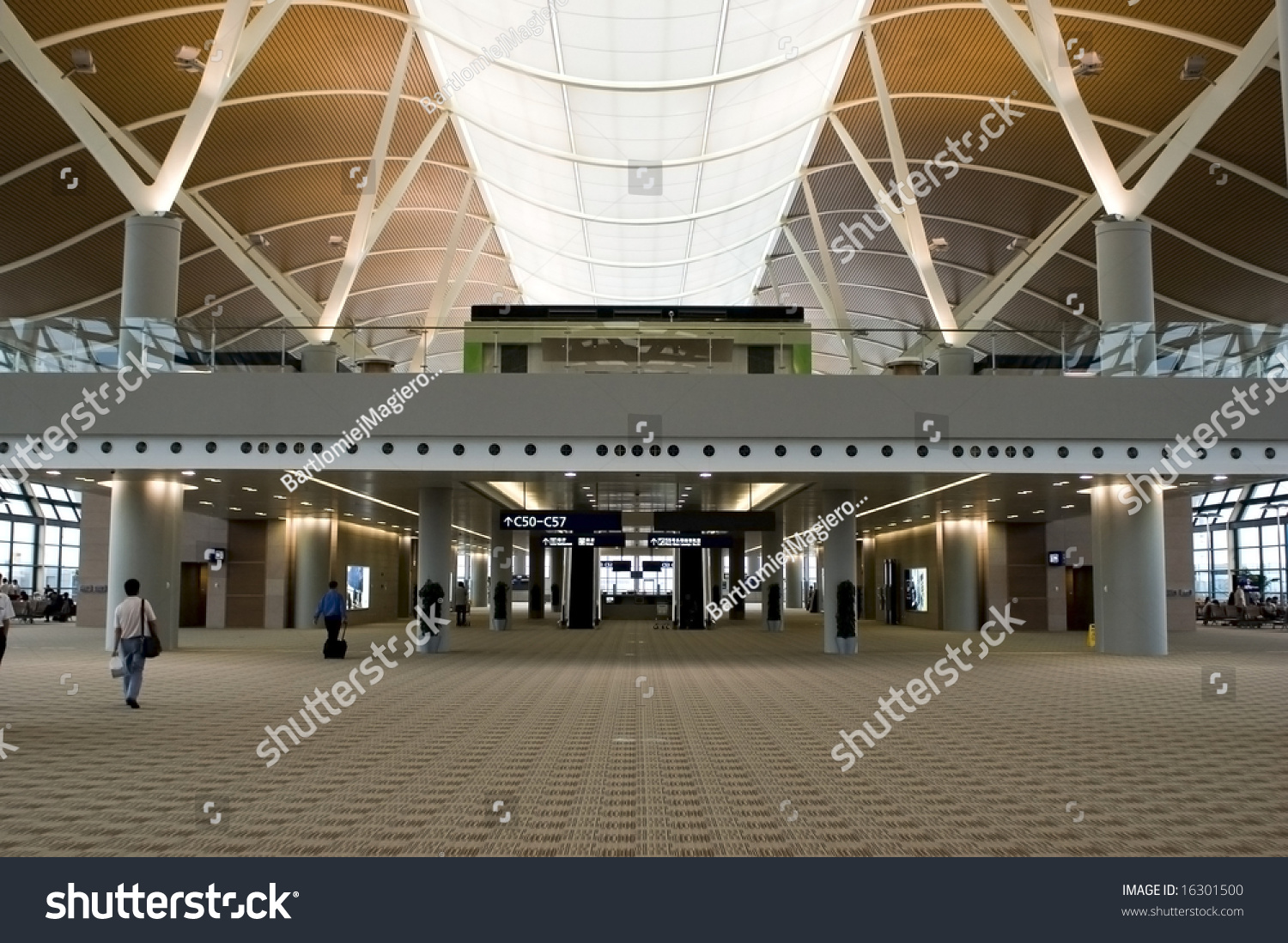 New. Second Terminal At Shanghai Pudong International Airport In China. Stock Photo 16301500 : Shutterstock