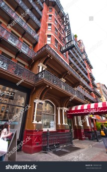 History of Chelsea Hotel in New York City