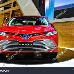 All New Camry 2018 Thailand Harga Grand Veloz Pontianak Nonthaburi November 282018 Toyota Stock Photo 28 2019 On