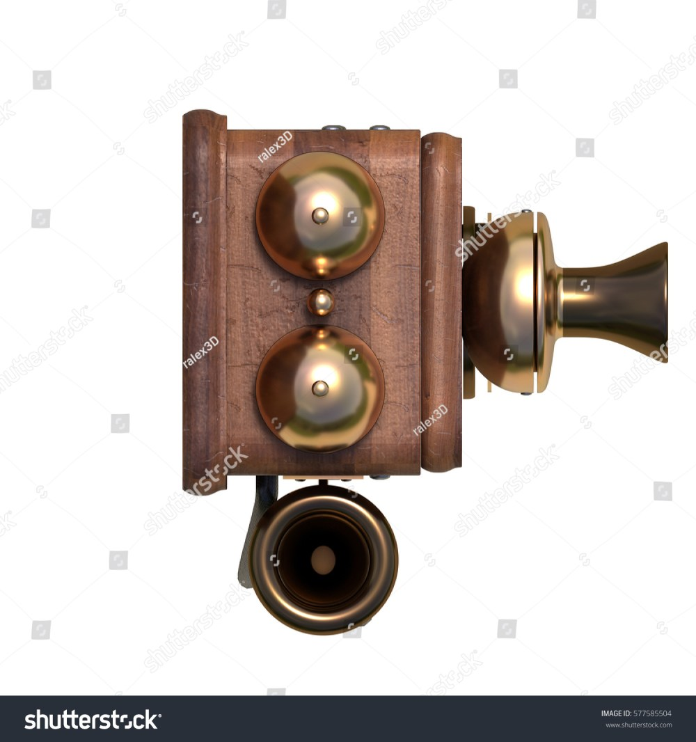 medium resolution of old antique phone