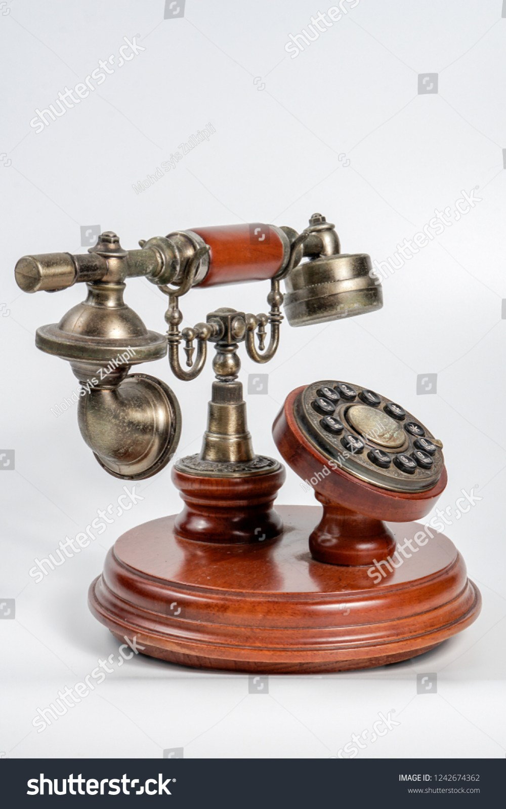 medium resolution of old antique vintage telephone phone isolated