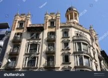 Beautiful Architecture Famous Avinguda Diagonal