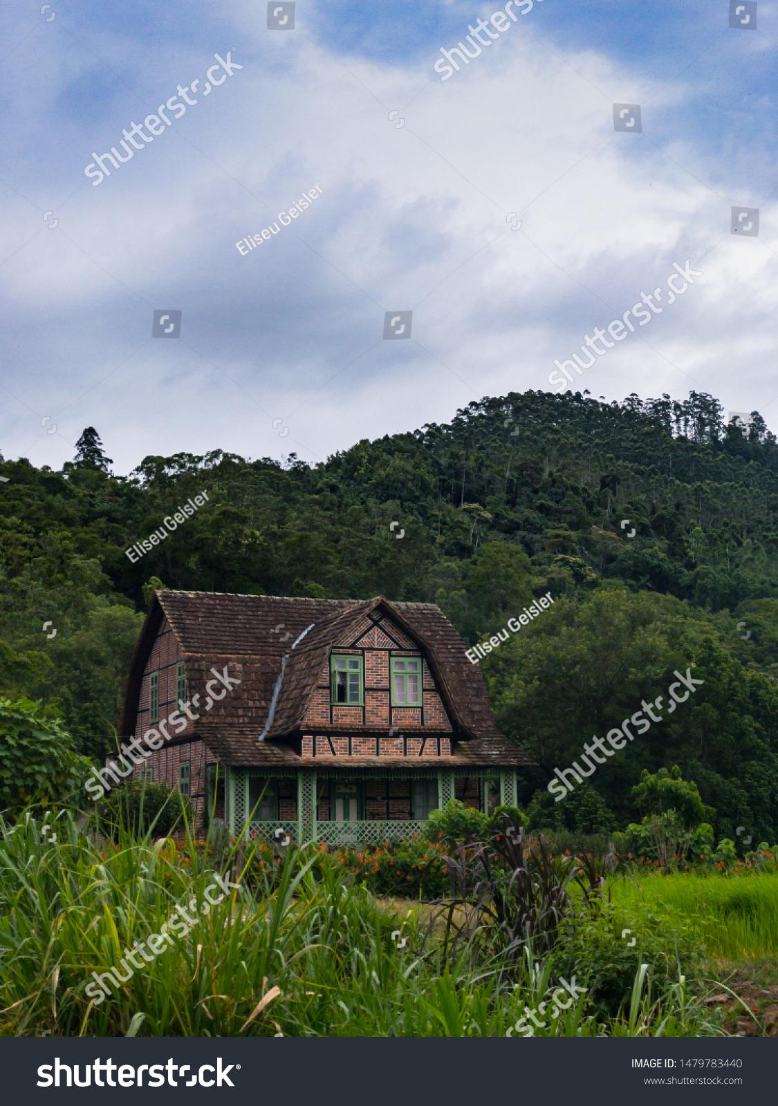 German Colonial House : german, colonial, house, Colonial, German, House, South, Brazil, Stock, Photo, (Edit, 1479783440