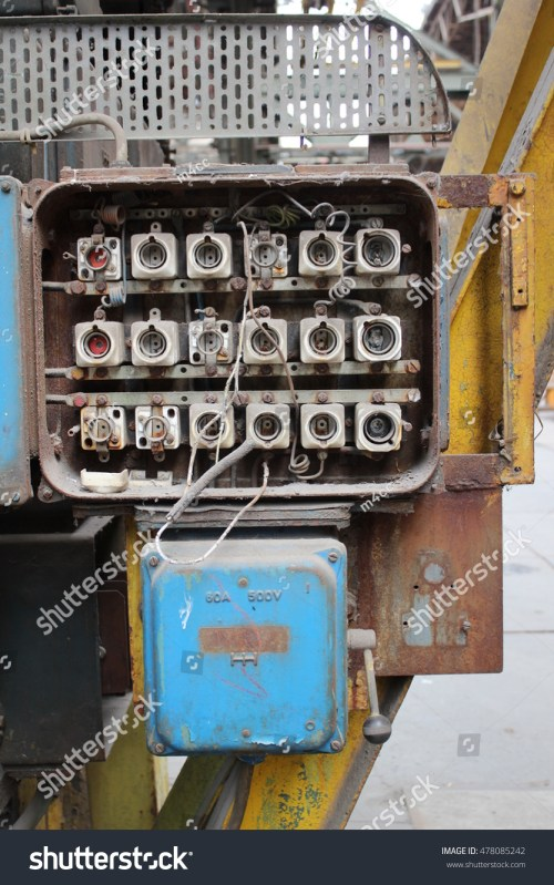small resolution of old electric fuse box